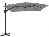 Linz umbrella alu 3x3 anthr/gr