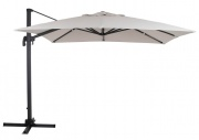 Linz umbrella alu 3x3 anthr/kh