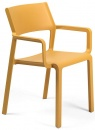 Trill armchair mustard yellow