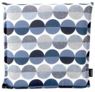Naxos seat cushion blue patter