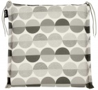 Naxos seat cushion grey patter
