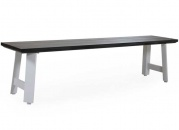 Wayburn bench white/grey