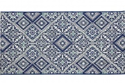 Tavira carpet blue 150x80